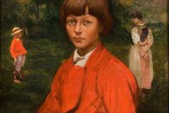 Włodzimierz-Tetmajer-Portret-dzieci-artysty