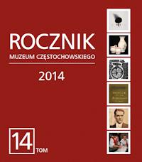 """Okładka periodyku """"Rocznik Muzeum Częstochowskiego"""" t. 14"""