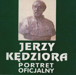 """Okładka katalogu """"Jerzy Kędziora. Portret oficjalny"""""""