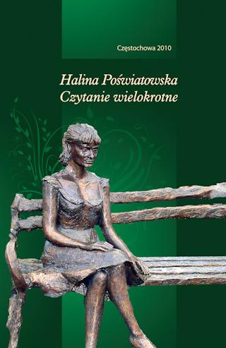 """Okładka publikacji """"Halina Poświatowska. Czytanie wielokrotne"""""""