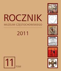 """Okładka periodyku """"Rocznik Muzeum Częstochowskiego"""" t. 11"""