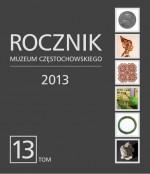 """Okładka periodyku """"Rocznik Muzeum Częstochowskiego"""" t. 13"""