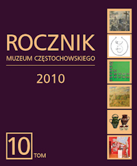 """Okładka periodyku """"Rocznik Muzeum Częstochowskiego"""" t. 10"""