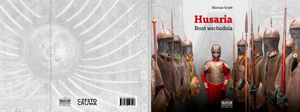 "Okładka katalogu ""Husaria. Broń wschodnia"""