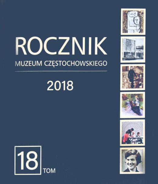 """Okładka periodyku """"Rocznik Muzeum Częstochowskiego"""" t. 18"""
